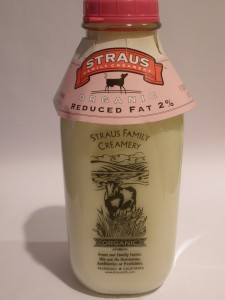 Post image for Organic Milk – Straus Family Creamery 2% – Top Rated!