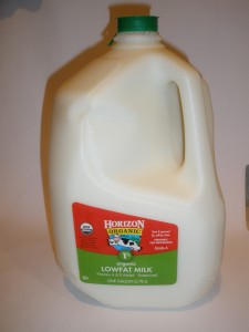 Post image for Organic Milk – Horizon 1% Pasteurized